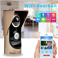Wifi Video intercom Wireless Video Door Phone Motion Detection For Andriod IOS PC 720P Night Vision