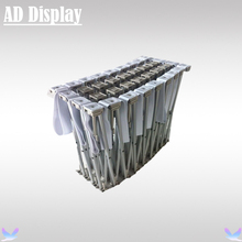 20ft Straight Tension Fabric Banner Pop Up Display Trade Show Advertising Stand,High Quality Exhibition Backdrop (Only Frame)(China (Mainland))