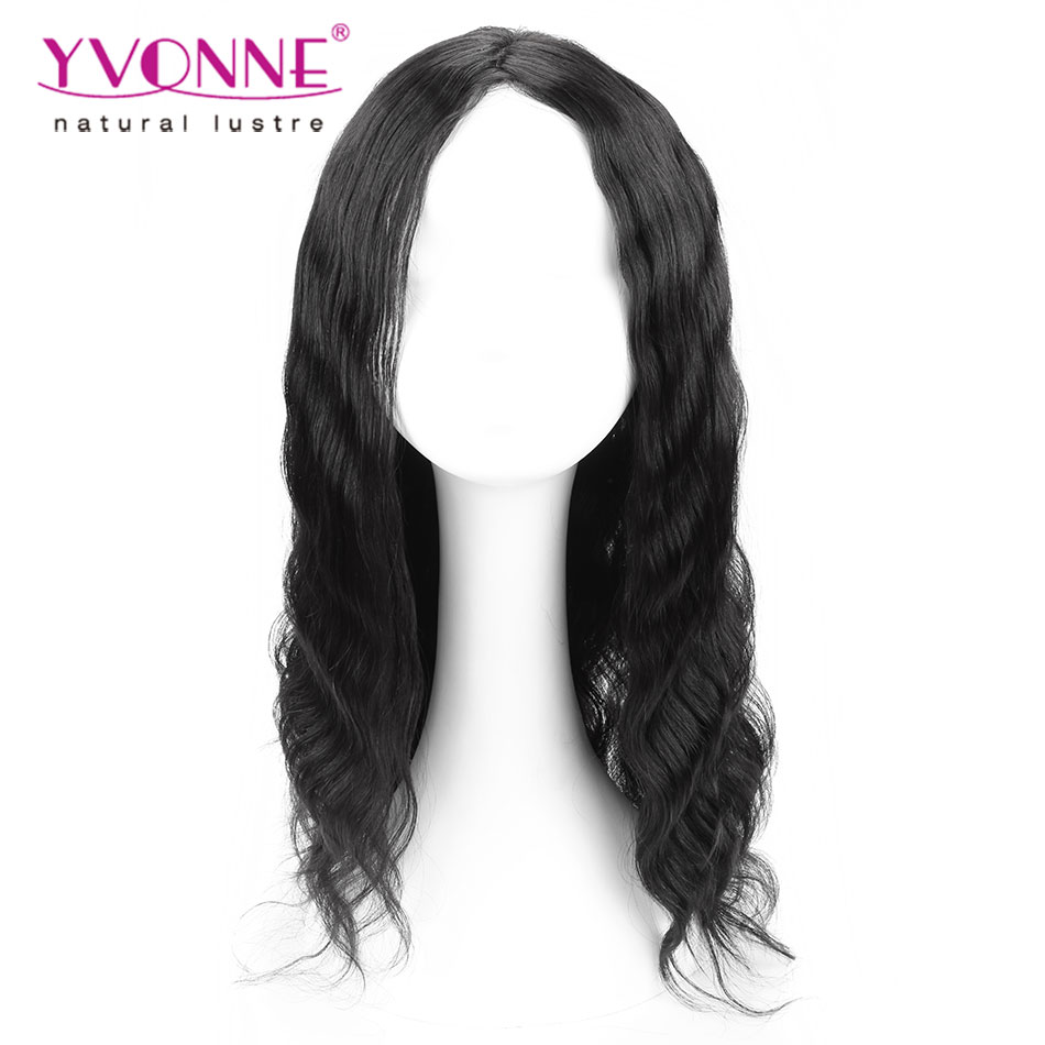 Big Sale!!!15% OFF Fashion Body Wave Brazilian Remy Hair Wig,Alixpress Yvonne Human Hair Front Lace Wigs,Color 1B Women's Wig(China (Mainland))