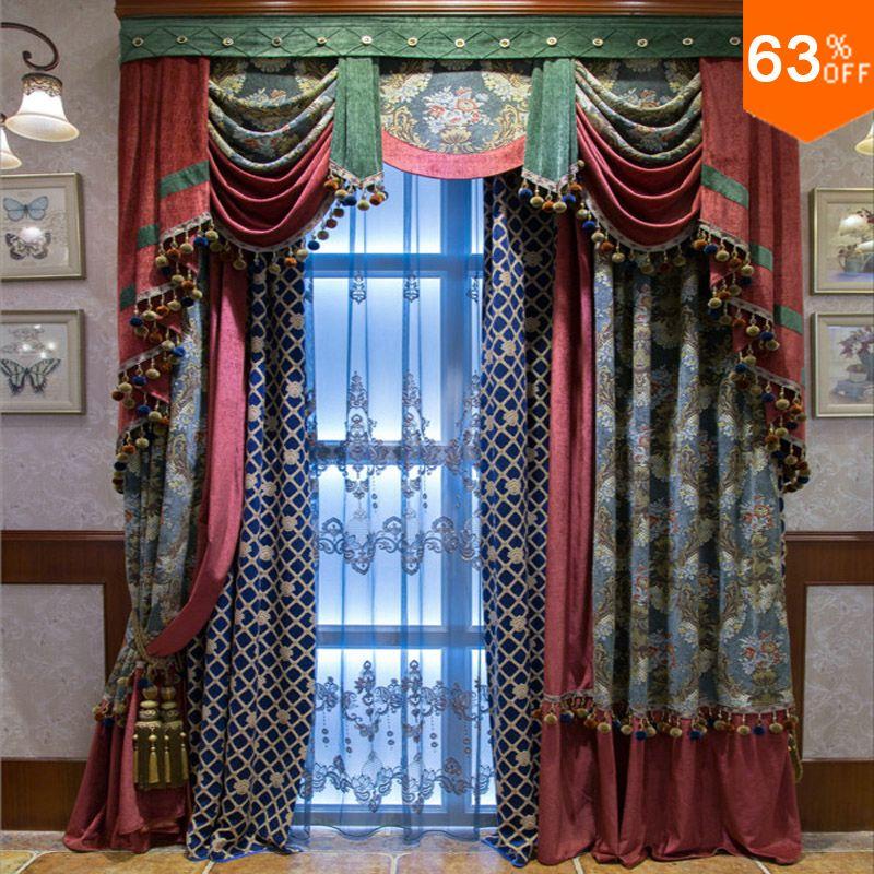 Cortinas rojas tiendas de la línea más grande del mundo cortinas ...