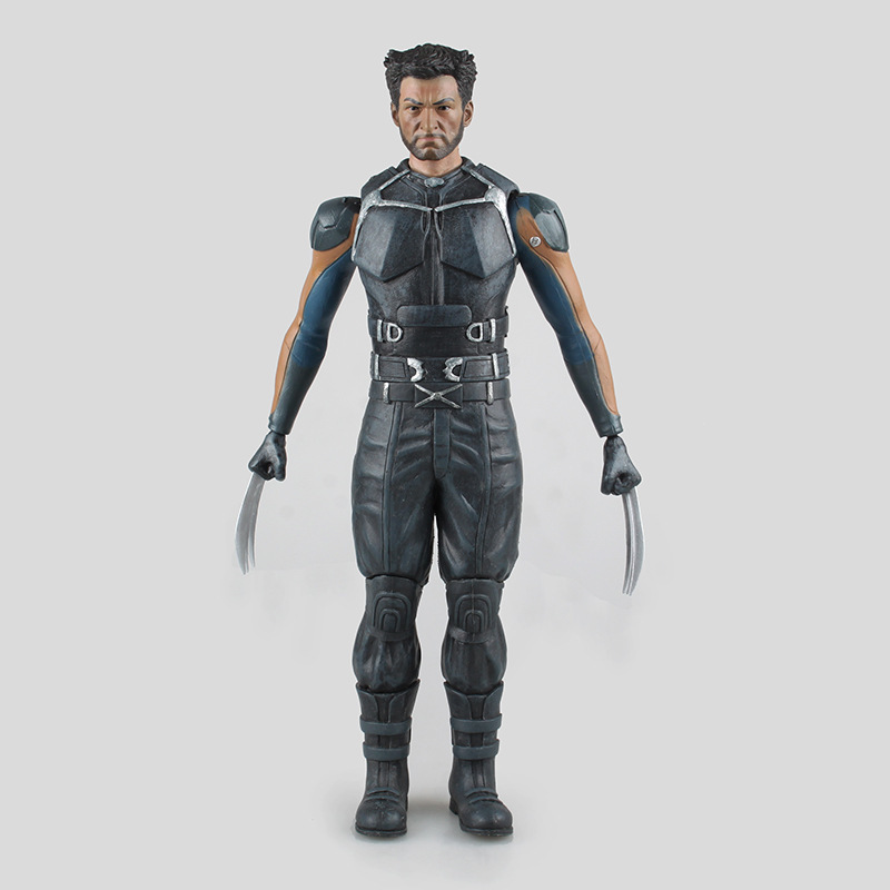 Фотография Cool Toys Movie X-MEN Days of Future Past Juguetes xmen Wolverine Logan PVC Action Figure Collectible Model Toys 31CM XMAF001