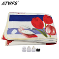 ATWFS Electric Blanket Plush Double Heated Blanket Security Blanket Thicker Single Electric Mat Body Warmer Heater