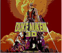 Duke Nukem 3D 16 bit MD Game Card For Sega Mega Drive For Genesis