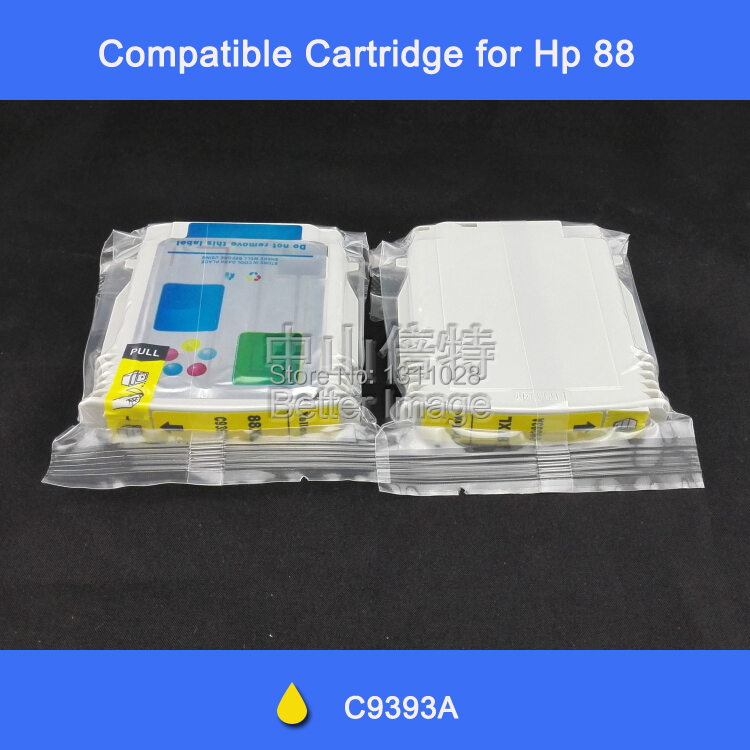 Compatible ink cartridge for HP88 C9393A High-quality ink cartridges office pro K550 L7580 k8600(China (Mainland))