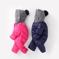 New 2016 Baby Winter Romper cotton padded One Piece Newborn baby girl Warm jumpsuit Autumn Fashion
