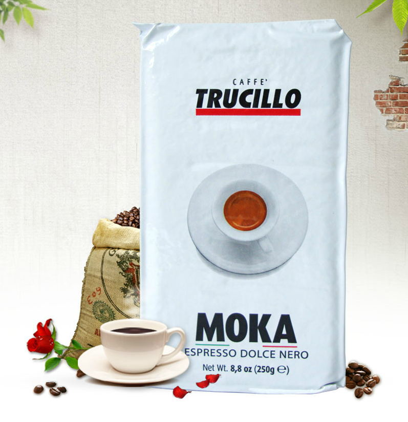 Italy imports Trudi he concentrated 250 g aroma rich mocha coffee powder 100 arabica beans free
