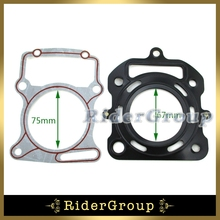 Motorcycle Cylinder Head Gaskets For Zongshen CG250 250cc Chinese Water Cooled Engine Motocross Pit Dirt Bike ATV Quad(China (Mainland))