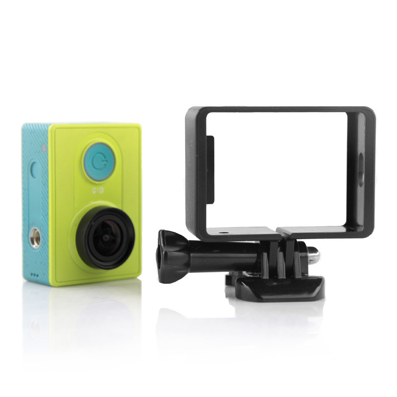 Portable Protective Frame for Xiaomi Camera Quick Release Buckle Mount Base for Xiaomi Yi Action Camera Accessories Aksesoris<br><br>Aliexpress