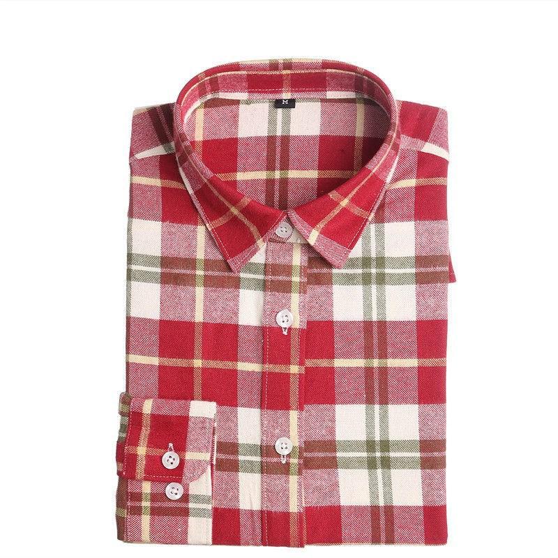 Рубашки В Клетку Женские Купить Недорого