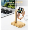 2016 Luxury Aluminum Watch Charger Dock Holder Cradle USAMS Mental Bracket Charging Station Stand Dock For
