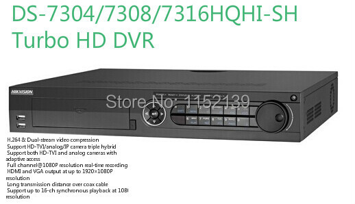 DS-7304HQHI-SH Original English Version HIKVISION Turbo HD 8ch 1080P DVR<br><br>Aliexpress