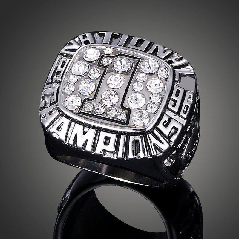 Imitation Diamond Paved NCAA 1996 University of Florida Gators Football Team Replica Super Bowl Rings J02111(China (Mainland))