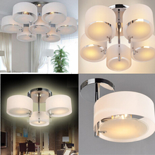 Free shipping Acrylic Chandelier lights modern brief living room lights 1-7 lights 110-240V free 3W LED bulbs only USD28.95(China (Mainland))