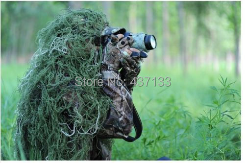 Military Army Hunting Ghillie Suit 80 90cm Jungle Camo
