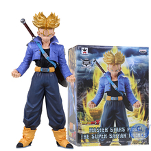 24CM Banpresto Dragon Ball Z Future Super Saiyan Trunks Action Figure Sculptures Figure Collectible Mascot Kid Toys