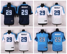 Tennessee Titans #29 DeMarco Murray White Navy Blue Alternate and Light Blue Team Color High-quality free shipping(China (Mainland))