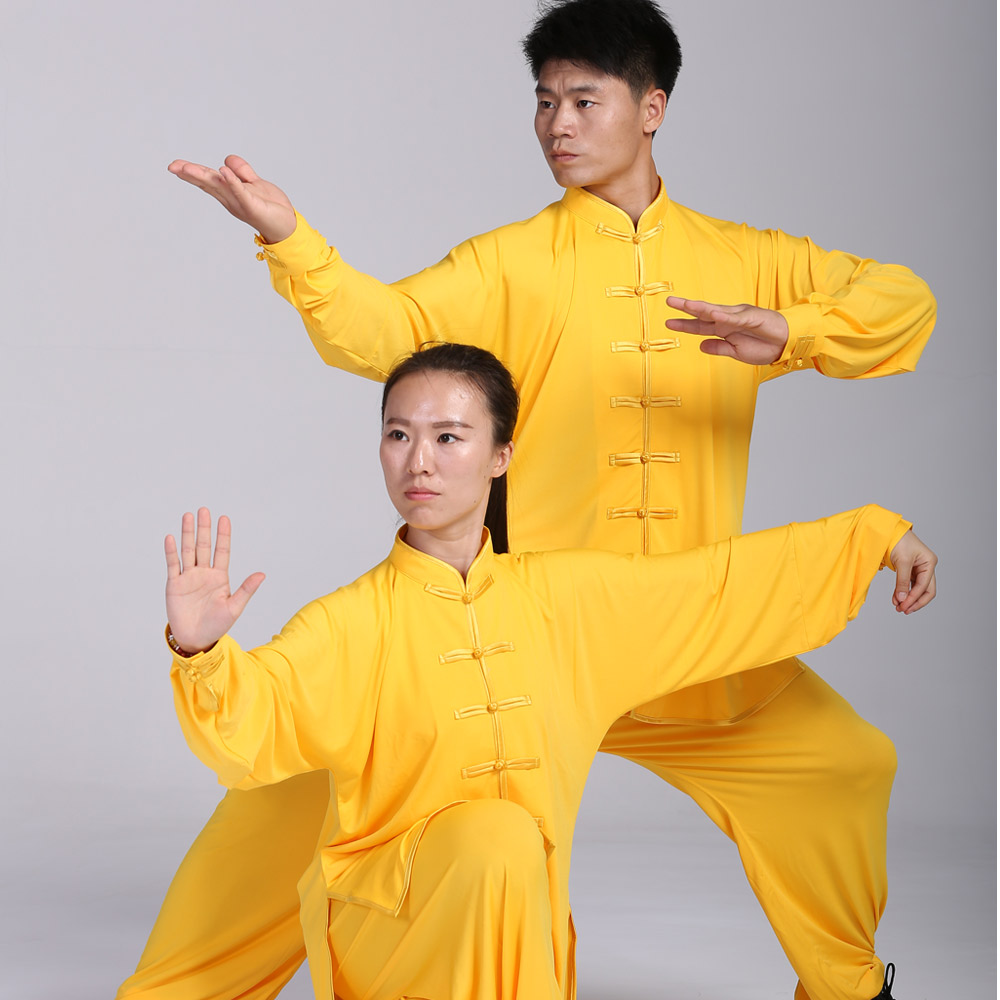 Фотография 2016 new Chinese tai chi suits 5colors for men and women M-XXXL freeshipping long sleeves rayon  and microfiber