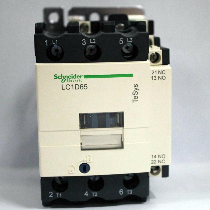 Фотография LC1D65M7C LC1-D65M7C Contactor 65A AC 220V 50/60Hz New