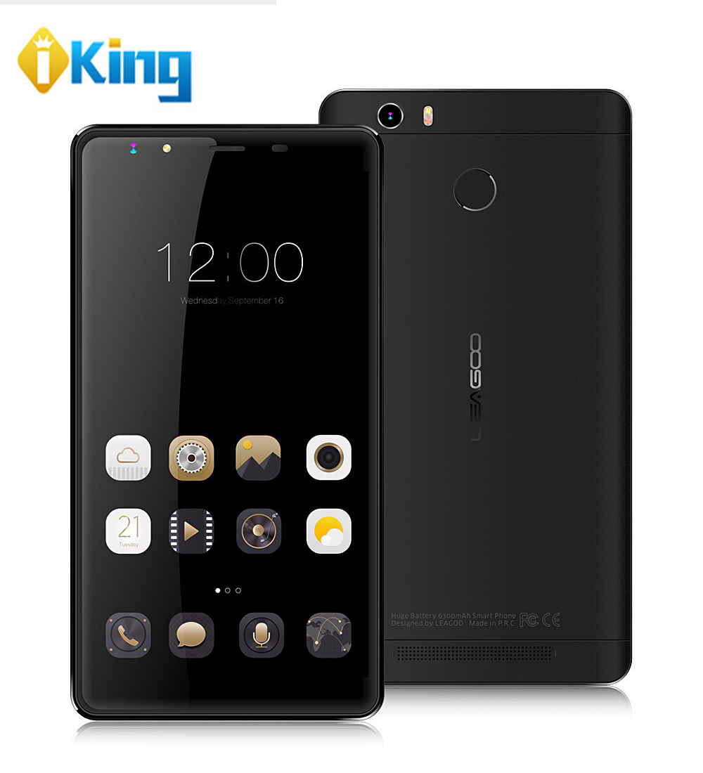 """Leagoo Shark 1 Smart Phone MTK6753 1.3GHz Octa Core 6.0"""" FHD Screen 3G RAM 16G ROM 13MP Touch ID Android 5.1 4G LTE Cell Phone(China (Mainland))"""