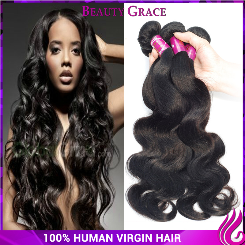 6a filipino virgin hair 4 bundles body wave raw unprocessed virgin hair human hair processed best selling products of the year(China (Mainland))