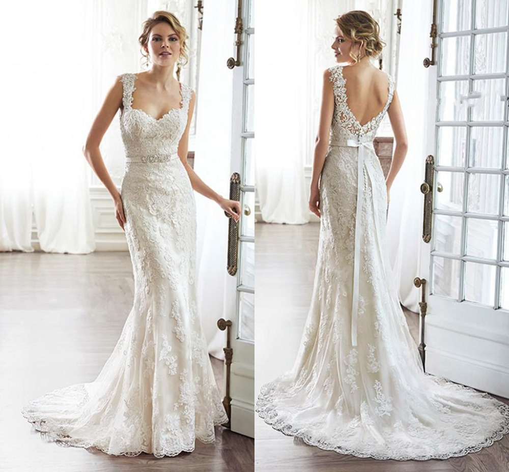 2015 sexy sweetheart strapless mermaid wedding dresses for Vintage mermaid style wedding dresses