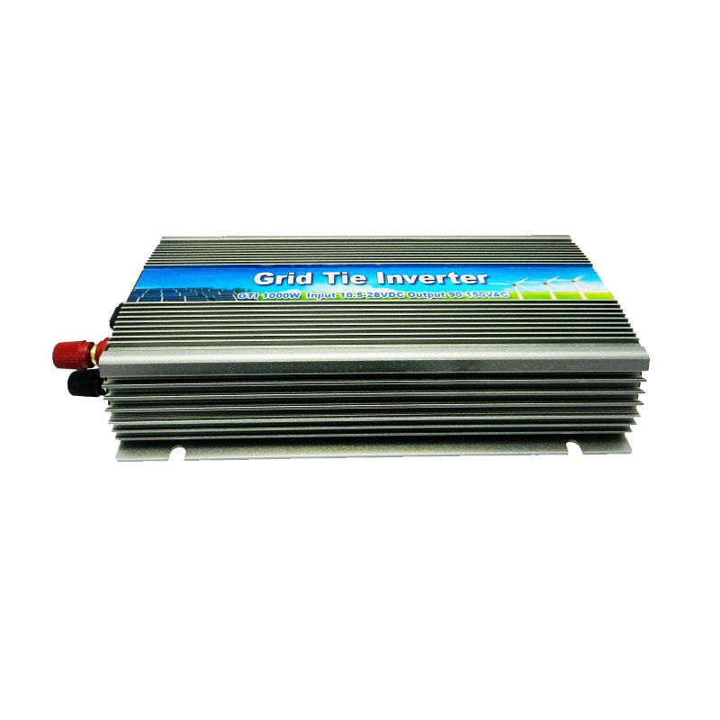 NEW!!!22-50V 1000W Solar Pure Sine Wave On Grid Tie Micro Inverter,Output 190-260V.50hz/60hz, For Solar Energy Home System(China (Mainland))