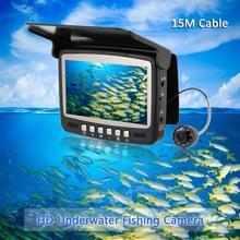 Video Fish Finder 4.3inch LED Monitor 8 Infrared 800TVL HD Underwater Camera Fishing Finder 15M Cable Night Vision Visual Camera(China (Mainland))