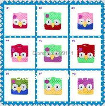 Padrão Crochet mão bonito Crochet Owl bolsa bolsa Boutique projeto Handmade pequena criança coruja bolsa 20 pcs BG001(China (Mainland))