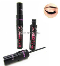Min.order is $10 (mix order)Smooth Black Liquid Makeup Waterproof Eyeliner Pen Eye Liner Pencil Cosmetic MK008