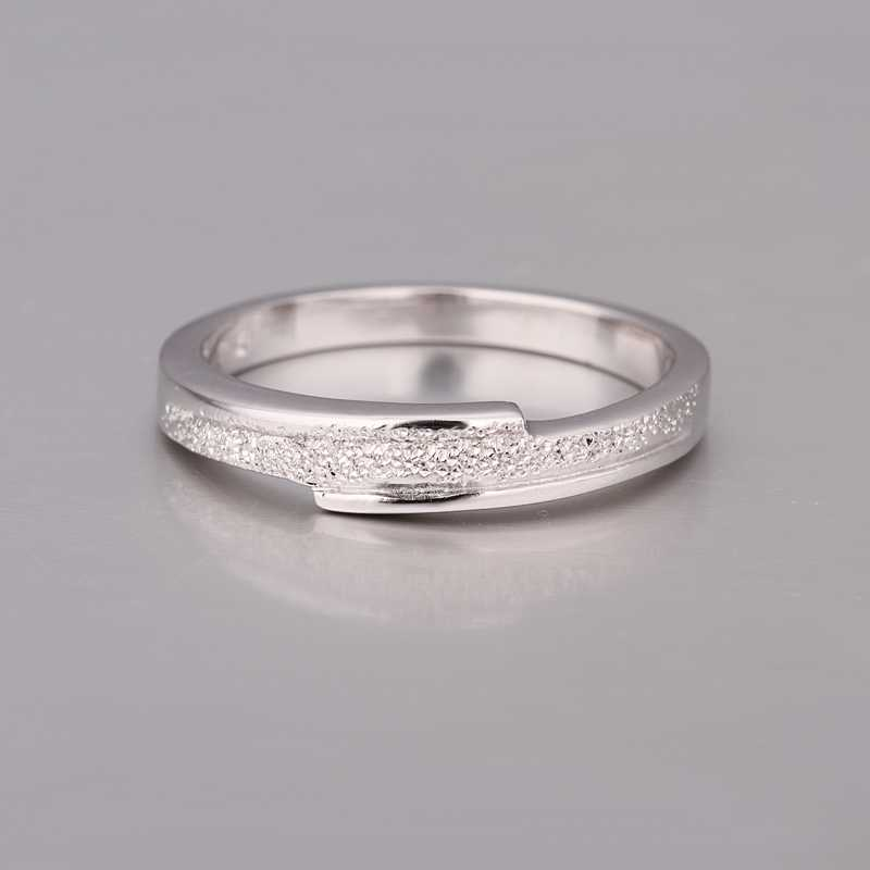 fashion platinum plated ring trendy simple ring fashion
