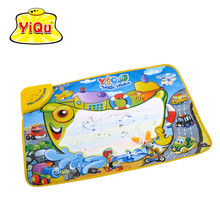 Musical Water Drawing Doodle Mat With Pens Child's Play Mat Carpet Rugs For Baby Kids Girl's Gift Multifuntion 72*48*2cm(China (Mainland))