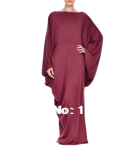2015muslim women cape dress plus size abaya dubai jibabs kaftan long sleeve maxi dress cloak robe arab garment KJОдежда и ак�е��уары<br><br><br>Aliexpress