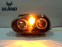 Buy VLAND Car head lamp VW Golf 4 1998-2002 headlight LED angle eyes for $338.00 in AliExpress store