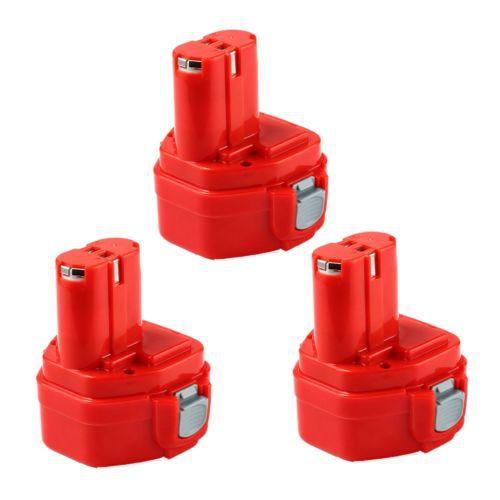 3pcs 1.5AH 12V Power Tool Battery for MAKITA 1220 1222 193981-6 6227D 6313D 6317D<br><br>Aliexpress
