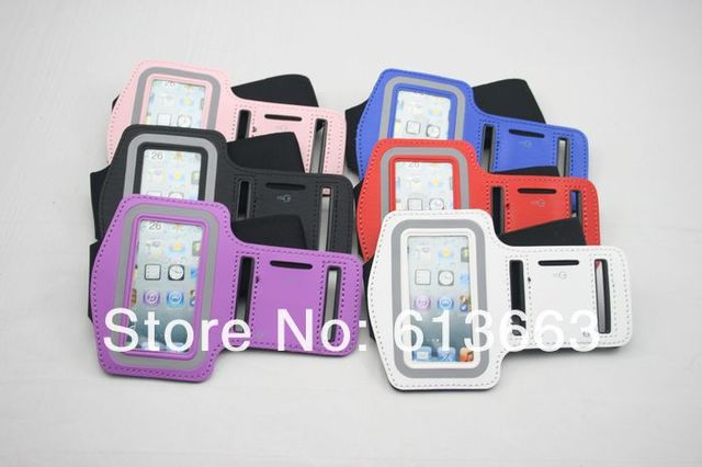 100pcs/lot Protector Sport Running Armband Arm band Case Cover For iPod Nano 7 7G