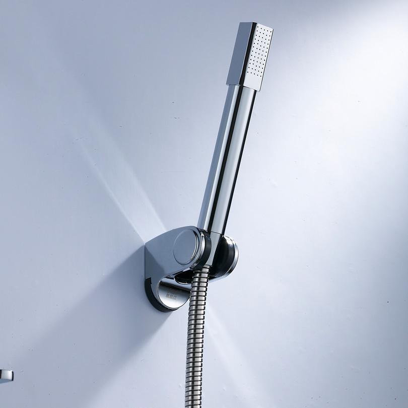 shower set include brass shower head abs shower holder bracket and 15m stainless steel hose