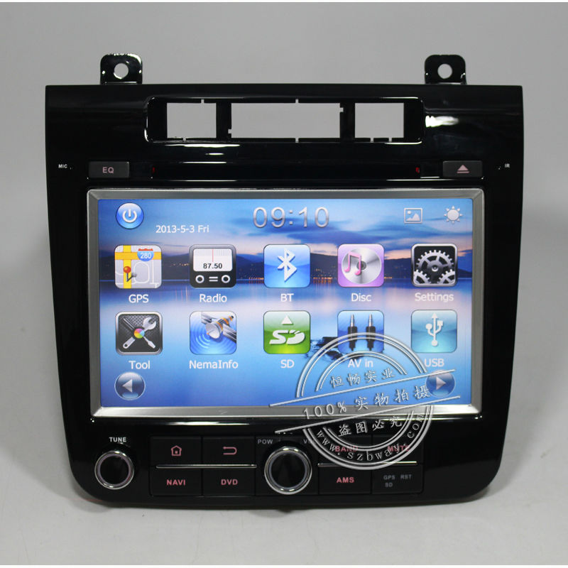 """Free Shipping Bway 8"""" Car dvd gps For VW TOUAREG 2011-2012 car dvd player with GPS Radio Bluetooth CANBUS,Free 8GB map card(China (Mainland))"""