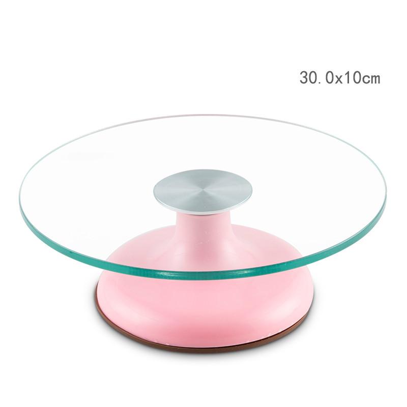 Decorating Base Turntable Cake Swivel Plate Revolving Cakes Sugar Craft Decoration Stand Platform Baking Tools Practical(China (Mainland))