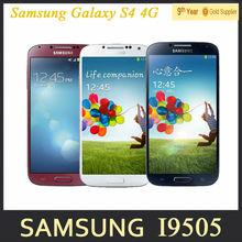 "S4 Samsung Galaxy S IV S4 i9500 i9505 Original Cell Phone Quad-core 13MP Camera 2GB RAM 16GB ROM 5.0"" inch Android Refurbished(Hong Kong)"