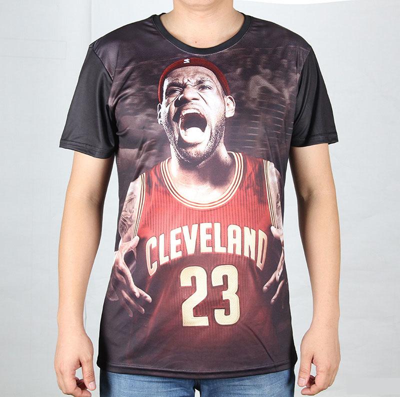 TOP Quality Men's 3D T Shirts Short Sleeve Creative Basketball Sports t-shirts Fashion Dog/Leopard/Wolf Animal tshirts Cartoon(China (Mainland))