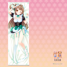 50X150CM Life-sized Love Live! Honoka Kotori Umi cartoon anime wall scroll picture mural poster art cloth canvas paintings f6325