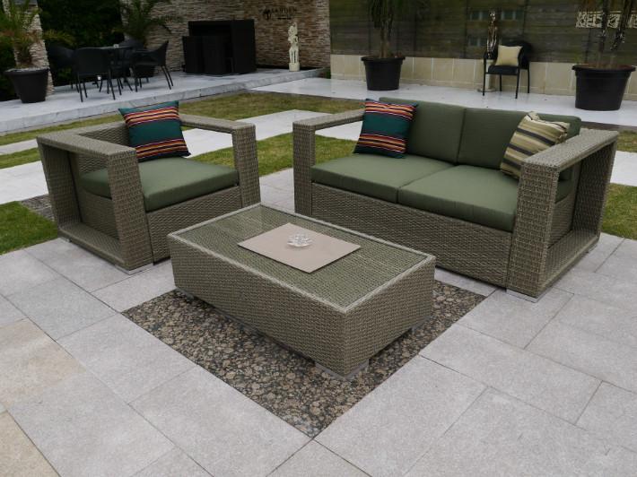 2017 Wicker Garden Sofa Poly Rattan Mid Century Outdoor Furniture(China (Mainland))