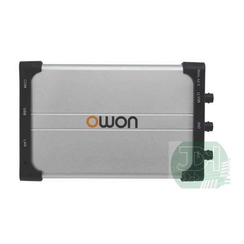 Owon VDS2062 PC LAN + USB Oscilloscope 60MHz bandwidth 500MSa/s sampling rate. Ultra-thin body depth LAN port + USB powered(China (Mainland))