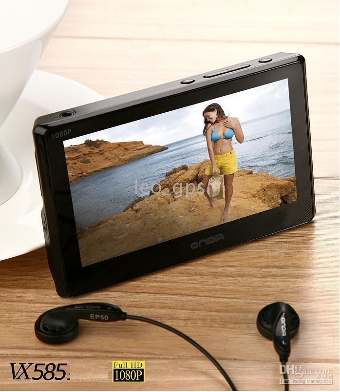 "TV-OUT Best price 1080P HD ONDA VX585HD 4.3"" screen 8GB MP4 MP5 Media player, 720P HDMI(China (Mainland))"