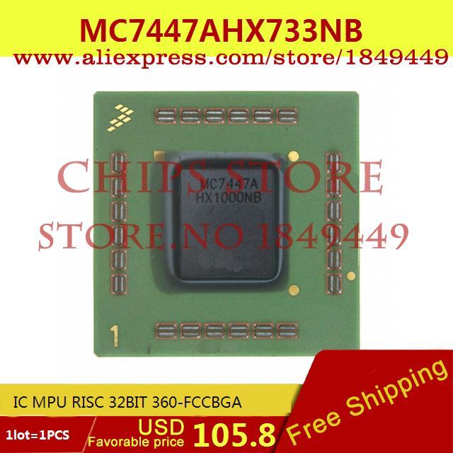 Бесплатная Доставка Электронных Компонентов IC MPU 32BIT RISC 360-FCCBGA 7447 MC7447 MC7447AHX733NB 1 ШТ.  цены