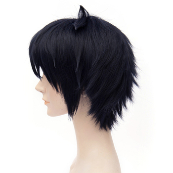 [Seraph Of The End] Character Yuichiro Hyakuya 11.81inches Black Short Cosplay Wig