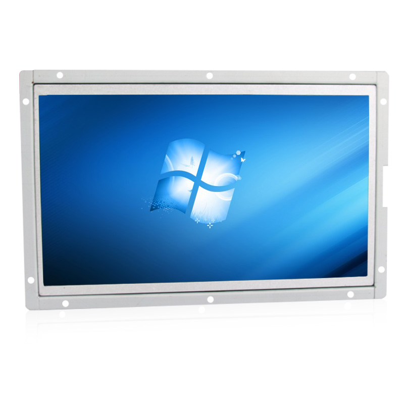 vga/hdmi/av/bnc interface 10 inch / 10.1 inch metal shell open industrial control lcd monitor,1024*600 resolution(China (Mainland))
