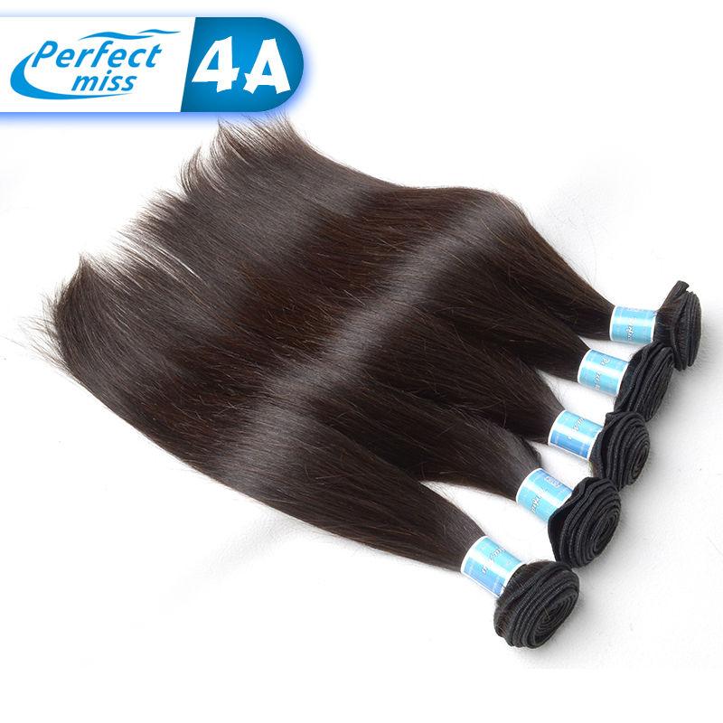 Best Quality Brazilian Virgin Hair Straight Wet And Wavy Brazilian Hair Weave Bundles 3 Pcs Full Head Brazilian Hair Bundles(China (Mainland))