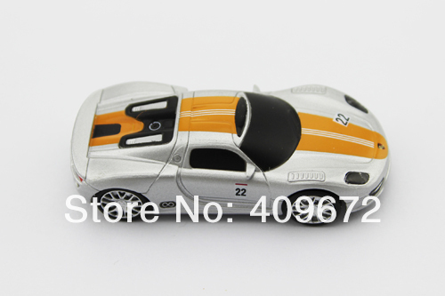Wholesale genuine 2GB/4GB/8GB/16GB/32GB usb stick usb flash drive metal 918 RSR racing car Free shipping 10pcs/lot(China (Mainland))