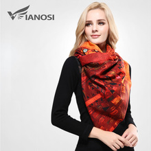 [VIANOSI] Designer Scarf Luxury Brand Scarves Women Printing Shawl Woman Foulard Warm Wool Scarf Cashmere Echarpe VA073(China (Mainland))